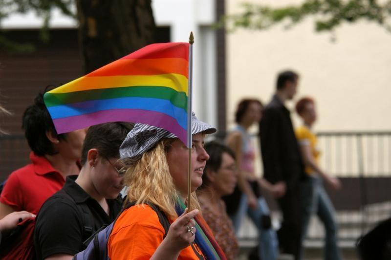 Aktyvistai sveikina Prancūzijos įstatymą dėl gėjų santuokų
