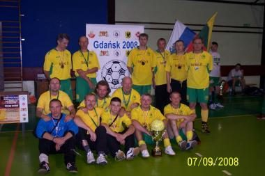 Lietuviai - Europos benamių futbolo čempionato vicečempionai