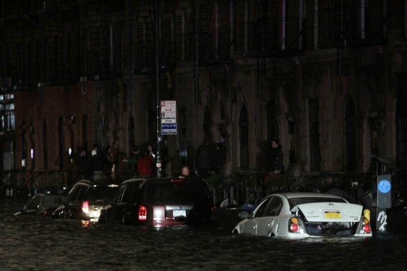 Uragano jėgą patyrusi niujorkietė: tokio košmaro dar niekada nemačiau