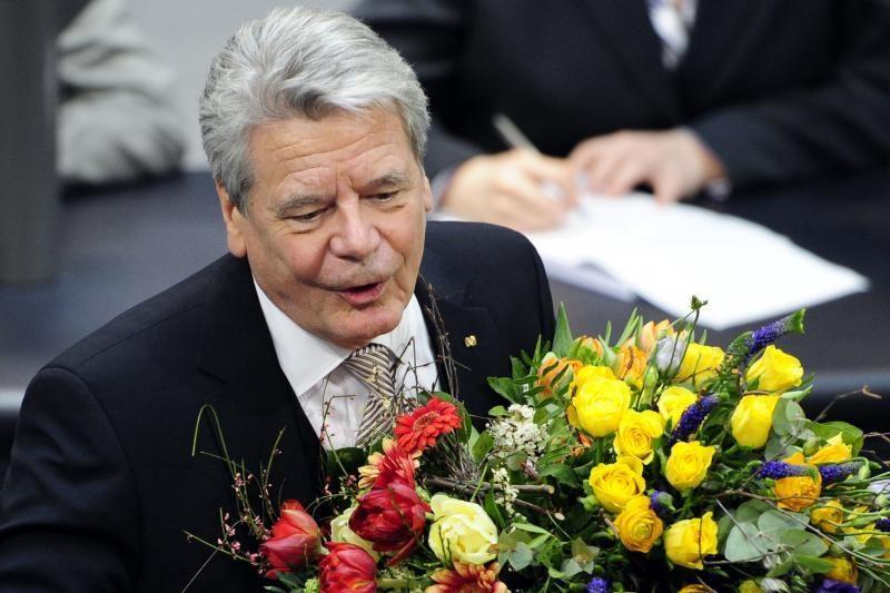 Vokietijos naujasis prezidentas prašo didesnio Europos solidarumo