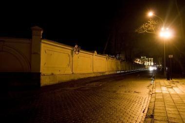 Dėl taupymo Vilnius paskęs tamsoje