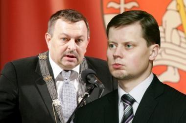 Vilniaus ir Kauno merai per savivaldos rinkimus siekia būti kandidatų sąrašų lyderiais