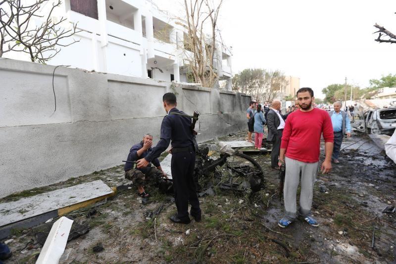 Libijos sostinėje - sprogimas prie Prancūzijos ambasados