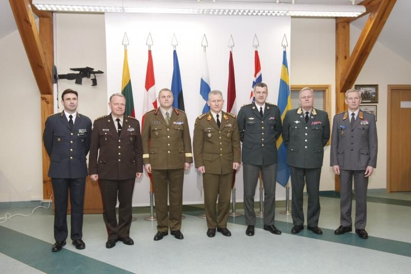 Klaipėdoje lankėsi 7- ių Europos šalių kariuomenių vadai