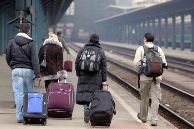Iš Didžiosios Britanijos gali išvykti 1 mln. imigrantų