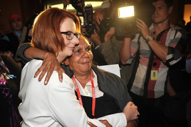 Australijos premjerė J.Gillard - ir toliau Leiboristų partijos lyderė