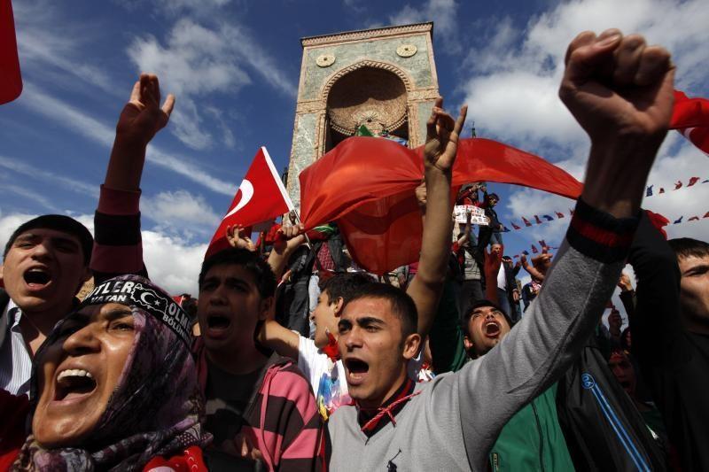 Kalinamas kurdų lyderis A.Ocalanas ragina nutraukti ugnį