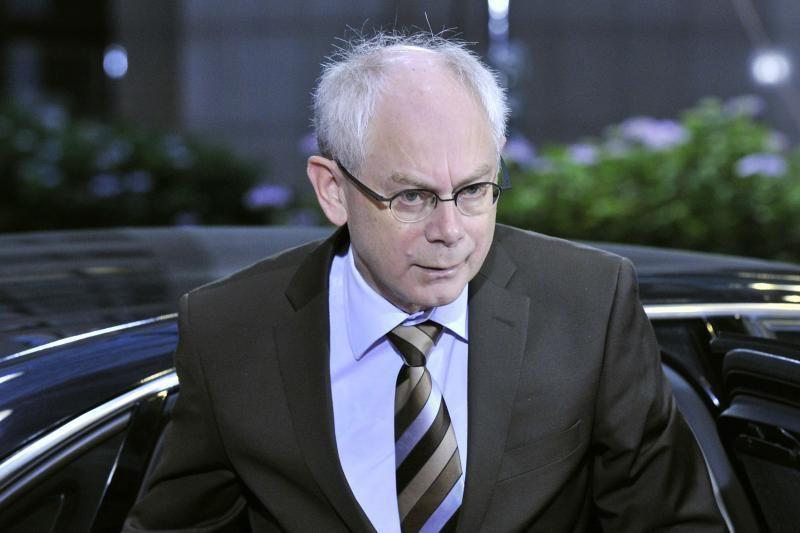 Vilniuje lankysis Europos Vadovų Tarybos pirmininkas H. Van Rompuy