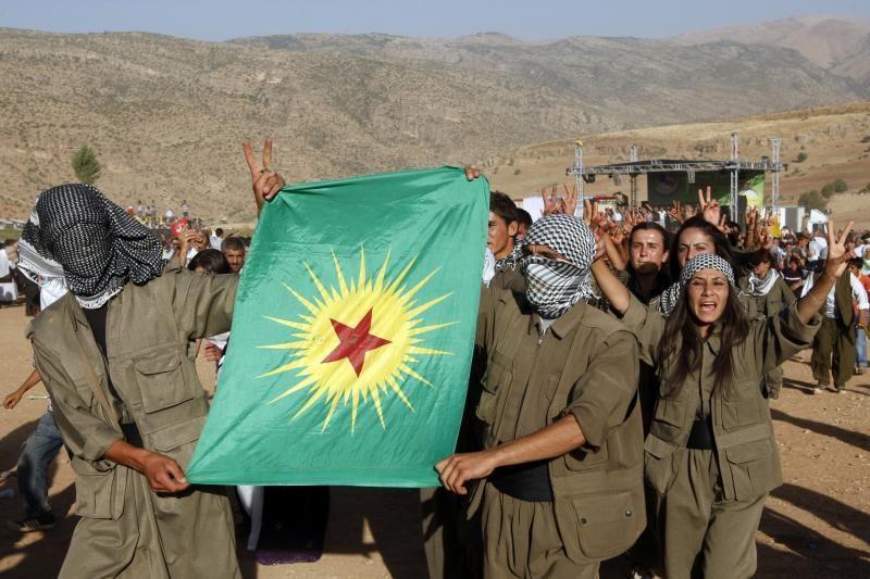 """Turkija laukia kurdų sukilėlių lyderio """"istorinio"""" paraginimo"""