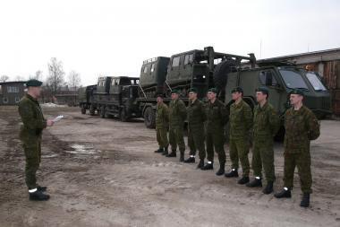 Suformuotas papildomas karių būrys paramai potvynio zonoje teikti