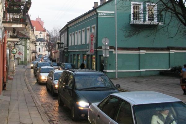 Kaziuko mugė paralyžiavo eismą Vilniaus centre