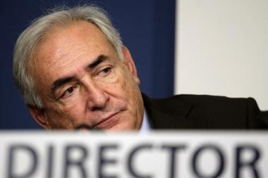Dominique'as Straussas-Kahnas toliau vadovaus TVF