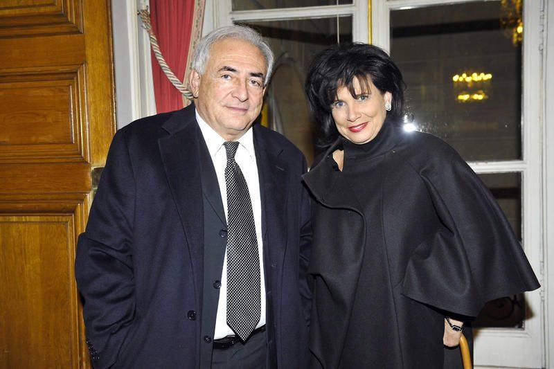 Šaltinis: D.Straussas-Kahnas ir A.Sinclair nebegyvena kartu