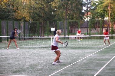 Palangoje – nauji teniso kortai