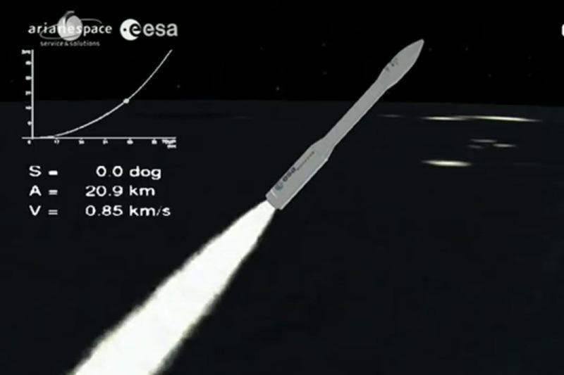 Pirmasis Estijos kosminis palydovas sėkmingai iškeltas į orbitą