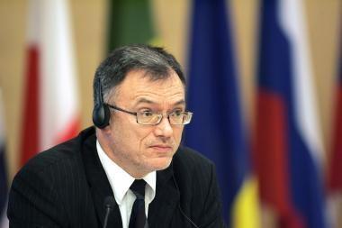 P.Vaitiekūnas su ministrais diskutuos Marselyje
