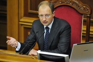 Ukrainos parlamentas liko be galvos
