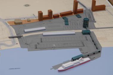Vokiečiai pralaimėjo ginčą dėl Klaipėdos keleivių terminalo statybų