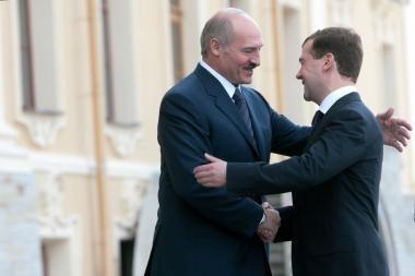 A.Lukašenka pareiškė paramą Maskvai