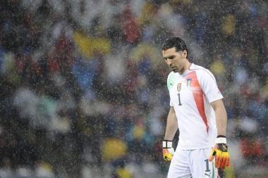 G.Buffonui pasaulio čempionatas baigėsi?