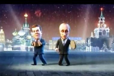 Rusai vis dar tiki Medvedevo ir Putino tandemo tvirtumu