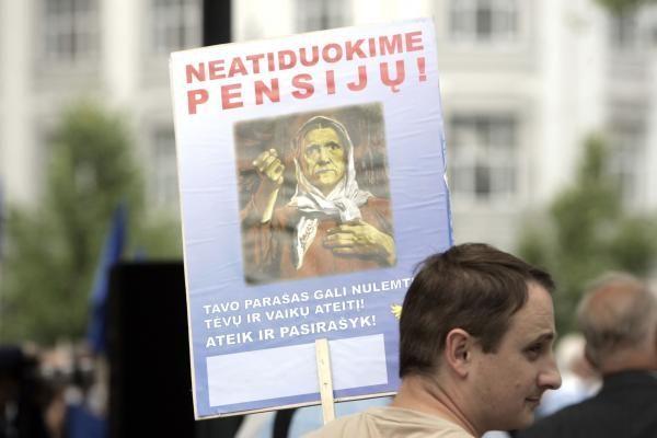 Europos Komisija nesvarstys pensijų kompensavimo Lietuvoje