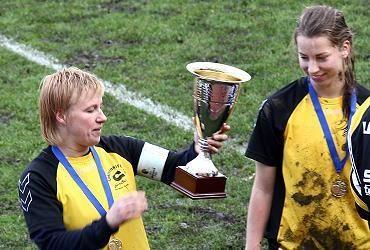 """""""Gintra-Universitetas"""" iškovojo Baltijos moterų lygos taurę"""