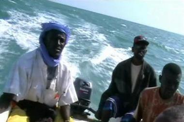 Adeno įlankoje išgelbėti piratai