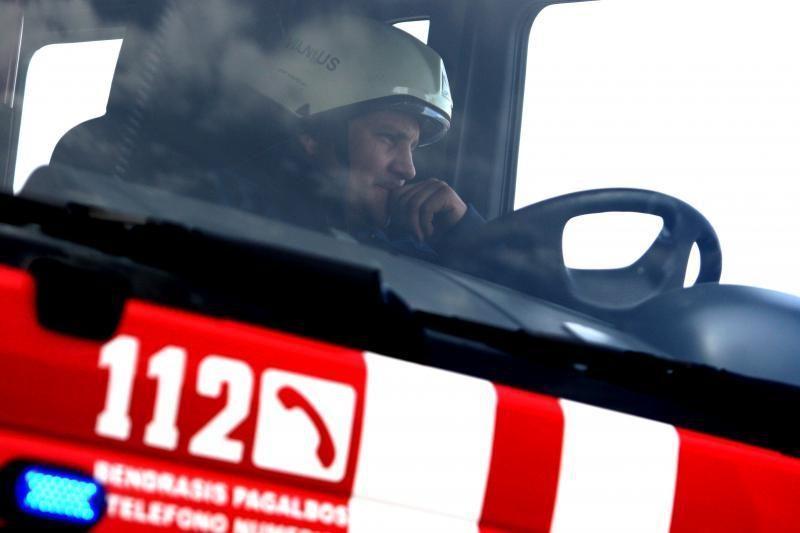 Trakų rajone per gaisrą   žuvo    žmogus