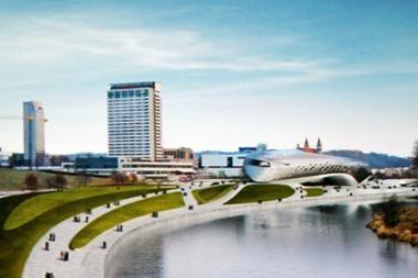 """Guggenheimo statybų procedūros atidėjimą opozicija sutiko šūksniais """"yes!"""""""