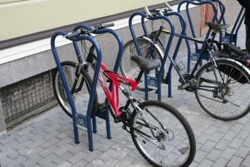 Mieste padaugės stovų dviračiams (papildyta)