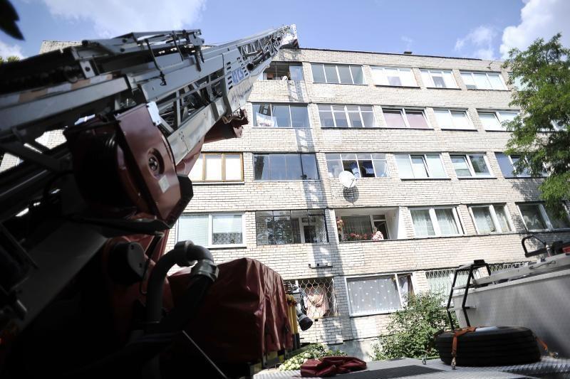 Uostamiesčio ugniagesiai policijai padėjo patekti į butą