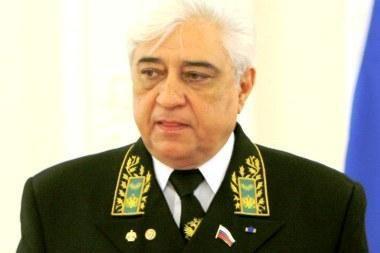 V.Čchikvadzė: Rusija nusivylusi Lietuvos pozicija dėl Karaliaučiaus