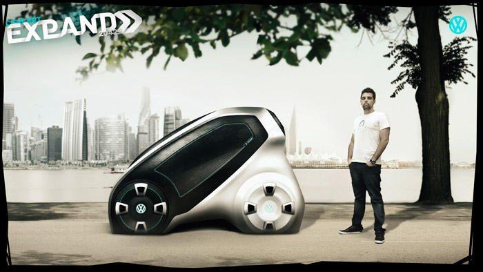"Į ""Volkswagen Expand"" tilps visi. Automobilis juk guminis"