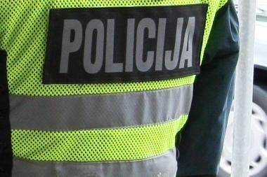 Sumuštas sostinės policijos pareigūnas