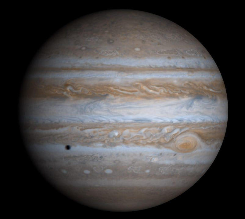 Kelionei į Jupiterį užteks 1,16 g antimedžiagos