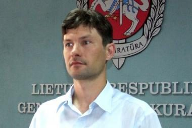 Generalinio prokuroro pavaduotoju siūloma skirti prokurorą D.Raulušaitį