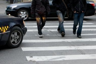 Šeštadienį policija baudė ne tik vairuotojus, bet ir pėsčiuosius