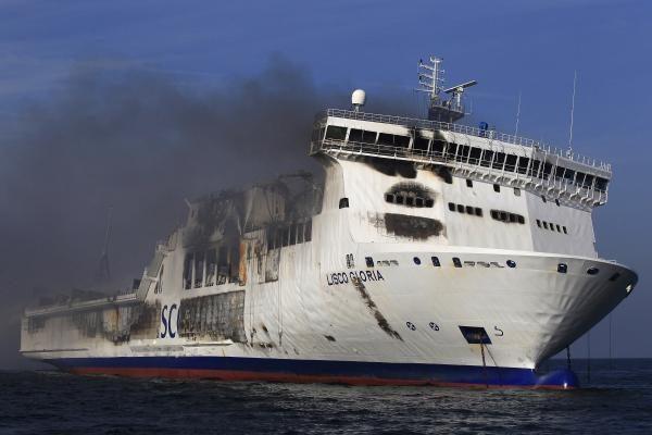"""Kelto """"Lisco Gloria"""" gaisro priežastis tiria trys šalys"""