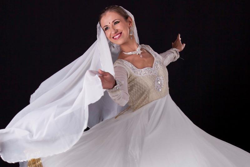 Indiški šokiai istorijas pasakos Klaipėdoje