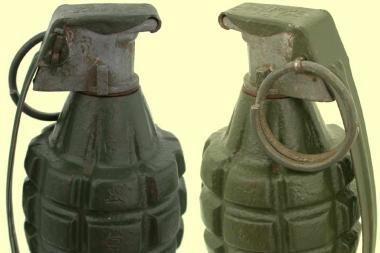 """Grafo Zubovo namo rūsiuose rasta """"granatų"""""""