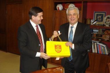 Klaipėdoje – Ukrainos konsulo vizitas