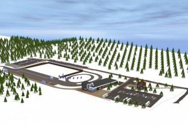 Ignalinoje - moderni žiemos sporto bazė