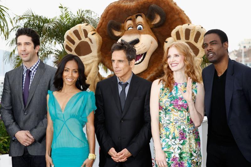"""Kanų kino festivalis šiltai sutiko filmą """"Madagaskaras 3"""""""