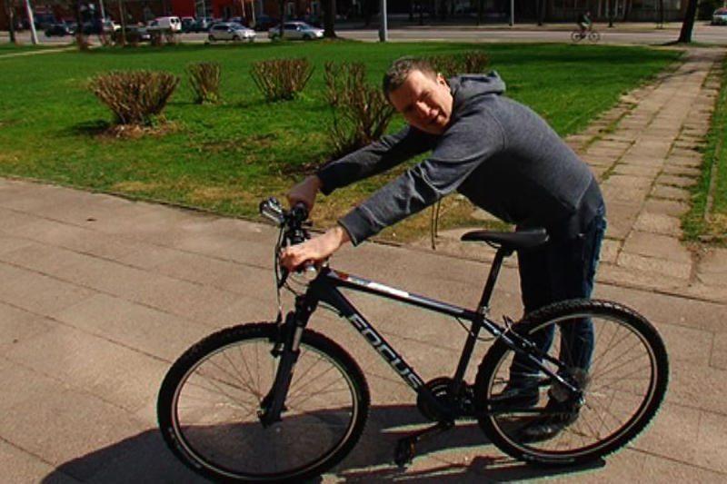 Deivydas Zvonkus: visi gerkit ir pirkit dviračius