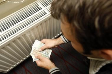 Gruodį šiluma Lietuvoje atpigo 0,03 cento