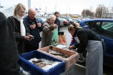 Žuvis tiesiai iš Baltijos jūros - ir ant kauniečių stalo (patikslintas prekybos laikas)