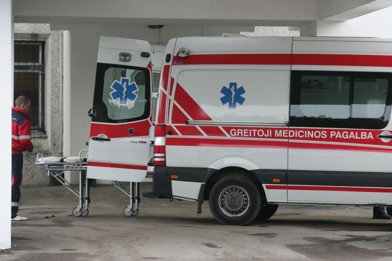 Į Klaipėdos ligoninę - dėl peiliu sužalotos krūtinės