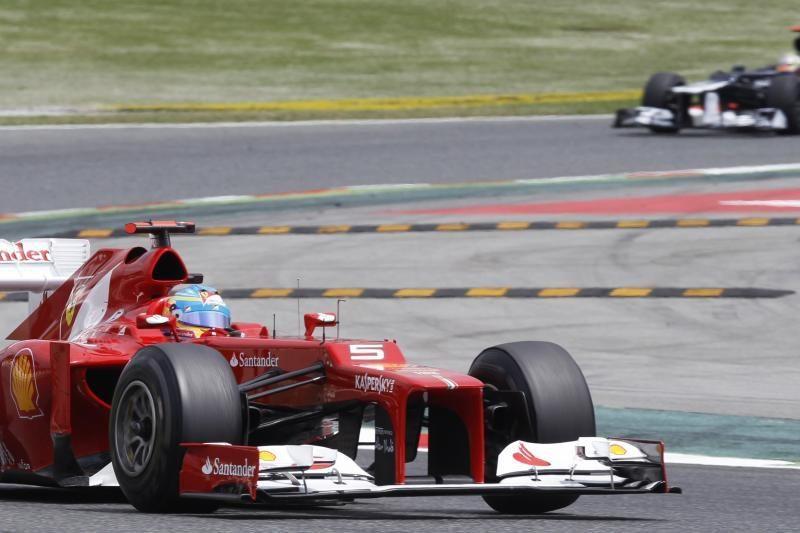 """""""Formulės 1"""" Ispanijos """"Grand Prix"""" laimėjo P.Maldonado"""