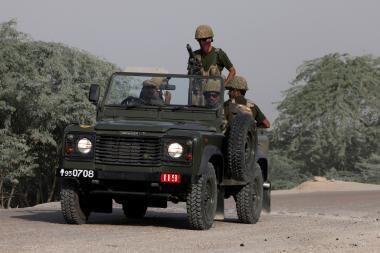 Pakistano pasienyje verda mūšiai: talibai prarado svarbų miestą